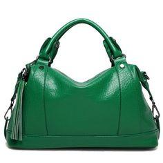 OGRAFF Boston women bag tassel women leather bag Litchi women messenger bag handbags famous brand high quality dollar price