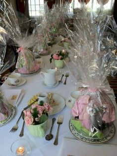 Our Afternoon Tea's are an enchanting way to celebrate a special occasion...