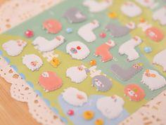 $0.42 (Buy here: https://alitems.com/g/1e8d114494ebda23ff8b16525dc3e8/?i=5&ulp=https%3A%2F%2Fwww.aliexpress.com%2Fitem%2F1pcs-Sheet-Korea-Styling-Kawaii-3D-Cartoon-Sheep-Alpaca-PVC-Diary-Stickers-Scrapbook-Decorative-For-Notebook%2F32626031877.html ) 1pcs Sheet Korea Styling Kawaii 3D Cartoon Sheep Alpaca PVC Diary Bubble Stickers Decorative For Notebook albums Card Paper for just $0.42