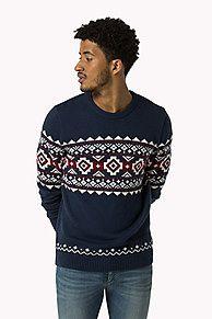 Compra jersey estampado festivo y explora la colección de jerséis Tommy Hilfiger para  hombre. Envío gratuito desde €150 y devolución gratuita. 8719253098307
