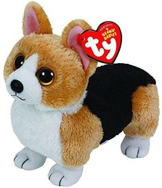 Ty Beanie Babies Otis - Corgi Brown Dog *** Be sure to check out this awesome product. (This is an affiliate link) Beanie Boo Dogs, Beanie Buddies, Ty Beanie Boos, Ty Stuffed Animals, Plush Animals, Cute Animals, Ty Peluche, Ty Toys, Brown Dog