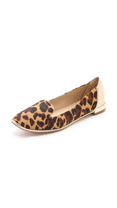 DVF flats!! Love!! // these flats are so comfy! have them in another design!! xIOV