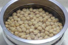 soaking kabuli channa to make falafel recipe 1