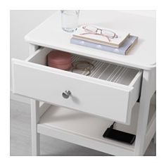 Favorite bedside table! TYSSEDAL Nightstand, white - white - IKEA