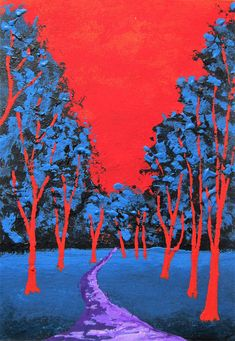 Brightscapes: The Way To Beauty  Twilight Woods #284 https://www.etsy.com/listing/193877751/twilight-woods-284-artist-trading-cards  My work on view at:  @Bausch Rochester Optics Center http://mikekraus.blogspot.com/2018/01/bausch-lomb-rotating-art-program.html  @Whitman Works Company https://www.whitmanworks.com/art-products?category=Mike+Kraus  Please support my friend @Jen Lunsford for NYS Senate https://www.facebook.com/VoteJenLunsford/  #