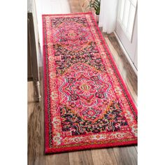 Soft and plush, the pile on this contemporary area rug is made from 100% polypropylene to prevent shedding, and will tie together any fashionable space. Add a sense of modern flair to any room with th