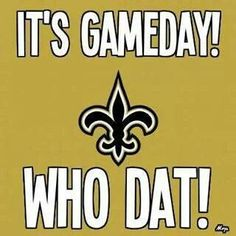 It's Game Day!