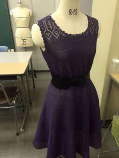 完成: Linen Flare Dress is finished! Flare Dress, It Is Finished, Knitting, Black, Dresses, Fashion, Vestidos, Moda, Tricot