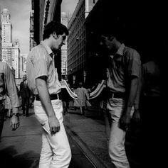 Vivian MAIER :: Man and Reflection, Chicago, October 1973