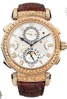 Replica Patek Philippe Grandmaster Chime 18K Rose Gold Dial Watch, best Patek Philippe 175th Collection Replica Watches for sale.