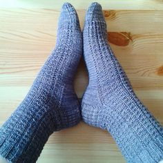 Ravelry: Petty Harbour socks pattern by Rayna Curtis Fegan Loom Knitting, Knitting Socks, Free Knitting, Knitting Patterns, Knitting Videos, Crochet Socks, Knitted Slippers, Knit Socks, The Happy Hooker