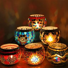 Cheap Price 1 X Handmade Mosaic Candle Holder Romantic Candlelight Dinner Wedding Party Candle Lamp Home Decoration Handmade Candle Holders, Handmade Candles, Glass Candle Holders, Romantic Candle Light Dinner, Romantic Candles, Candlelight Dinner, Lampe Decoration, Candle Lamp, Led Candles