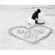 """""""Save the Date"""" idea"""