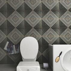 SomerTile 17.75x17.75-inch Royals Rombos Ceramic Floor and Wall Tile (Case of 5)