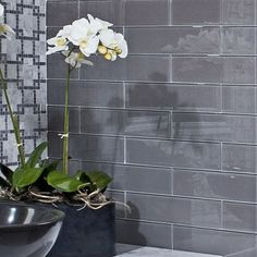ceramic tile design akdo glass whites - Glass Tile Backsplash In Bathroom