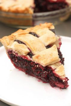 Triple Berry Pie | Tastes Better From Scratch I've made this and it is amazing! - adrianne