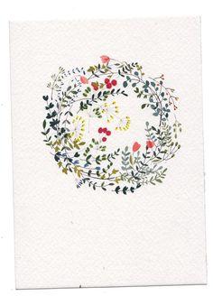 Gorgeous delicate wreath by Katrin Coetzer
