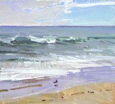Receding Tide, Butterfly Beach (Santa Barbara) - Marcia Burtt