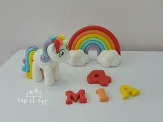 Edible personalised Unicorn, rainbow, name & age cake topper set in Crafts, Cake Decorating | eBay                                                                                                                                                                                 More