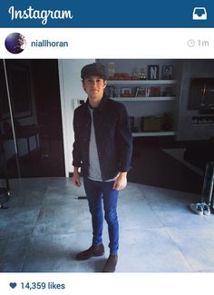 Niall posted this on Instagram // 4.21.15