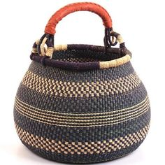 Ghana Bolga Gambibgo Pot by Baskets of Africa, http://www.amazon.com/dp/B009WTXZ0M/ref=cm_sw_r_pi_dp_yoTYqb1XS0KFF