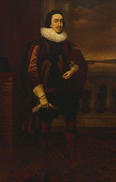 Daniel Mytens (c. Charles I when Prince of Wales Signed and dated 1623 Oil on canvas