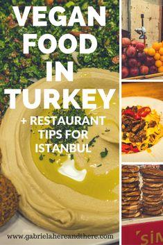 Vegan food in Turkey + Vegan and vegan-friendly restaurants in Istanbul