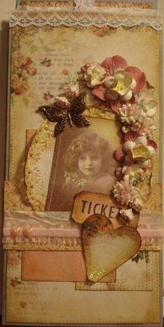 Vintage looking card