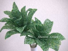 Beads Flower lessons report | Abientot (Abianto)