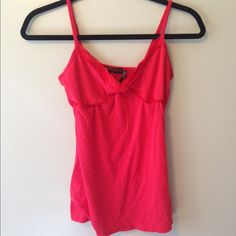 Guess red tank- medium Lightweight red tank by guess- medium - cute detail around chest area Guess Tops Tank Tops