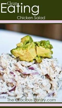 Chicken Salad. #CleanEating