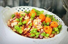 Bazsalikomos babsaláta Cobb Salad, Recipes, Food, Recipies, Essen, Meals, Ripped Recipes, Yemek, Cooking Recipes