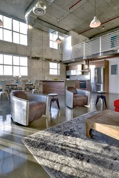 High Quality Industrial Loft Design Ideas, Pictures, Remodel And Decor / Chairs