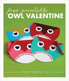 5 Adorable Valentine Printables