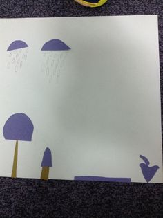Matisse inspired cutting and sticking activity 'when pigasso met mootise' by nina laden