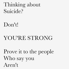 stay strong. you will win. you just need to fight. ♥️