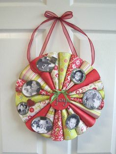 @Leah Blayne Kirby we need to make this ASAP... I have a ton or 2 of Christmas scrapbook paper that needs using!!!!