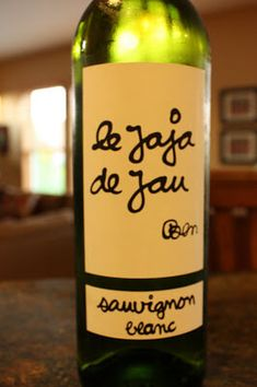 """100% Sauvignon Blanc from France. SRP of $10 and available for around $8. Sample received courtesy Pasternak Wine Imports for review purposes. From the bottle: """"COTES DE GASCOGNE (Indication Géographique Protégée) Jaja is an old French slang word for a glass of wine, and everyday wine, a thirst-quencher. Jau is a beautifully prestigious wine estate …"""