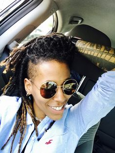 Shaved Side Hairstyles, Braid Hairstyles, Natural Hairstyles, Perm Rod Set, Marley Twists, Lock Style, Hot Hair Styles, Shaved Sides, Afro Punk