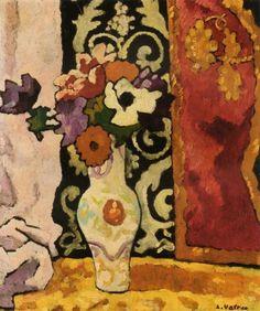 'Anémones au Vase de Porcelaine' - Louis Valtat.