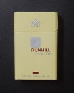 Embalagem de cigarro Dunhill Carlton - Crema Blend   5974   Supercolecao.com