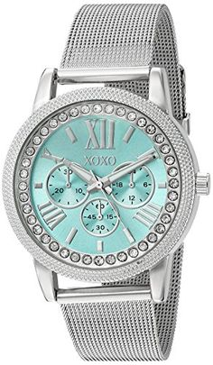 XOXO Women's Quartz Metal and Alloy Automatic Watch Color:Silver-Toned (Model: XO5899)...
