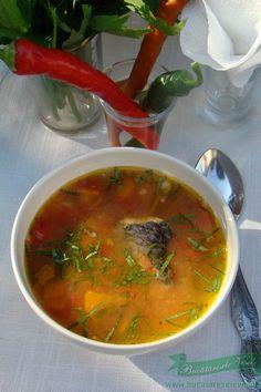 Fish Recipes, Soup Recipes, Dessert Recipes, Desserts, European Dishes, Romanian Food, Romanian Recipes, Arancini, How To Cook Fish