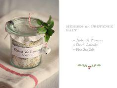Herbes de Provence Salt - Sylvia's Simple Life: The Season's Warmth