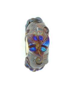 Elfbeads Ice Lilies Glass Bead
