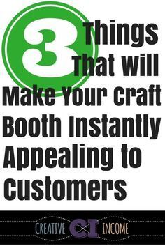 3 Things that Will Make Your Craft Booth Instantly Appealing to Customers - Creative Income Craft Show Booths, Craft Booth Displays, Craft Show Ideas, Display Ideas, Craft Fair Ideas To Sell, Display Boards, Retail Displays, Shop Displays, Merchandising Displays