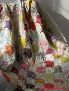 clamshell quilt - love it!