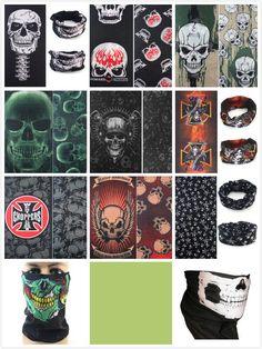 f5b588a9809 Skeleton Ghost Skull Face Mask Biker Balaclava Call of Duty COD Costume  Game BOS  fashion