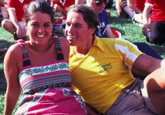 arnold schwarzenegger and maria shriver | Here Is The First Photo Ever Taken Of…