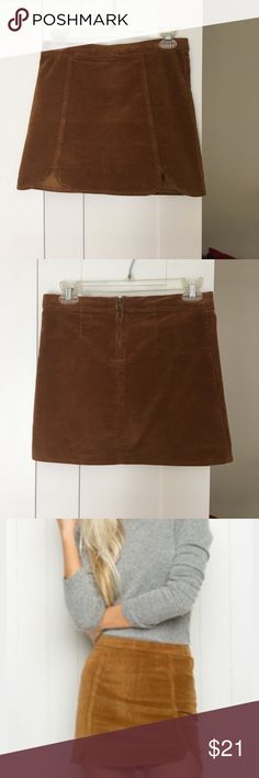 Brandy Melville Skirt Suede skirt that just doesn't fit me anymore, feel free to make offers! I've only worn this twice! Brandy Melville Skirts
